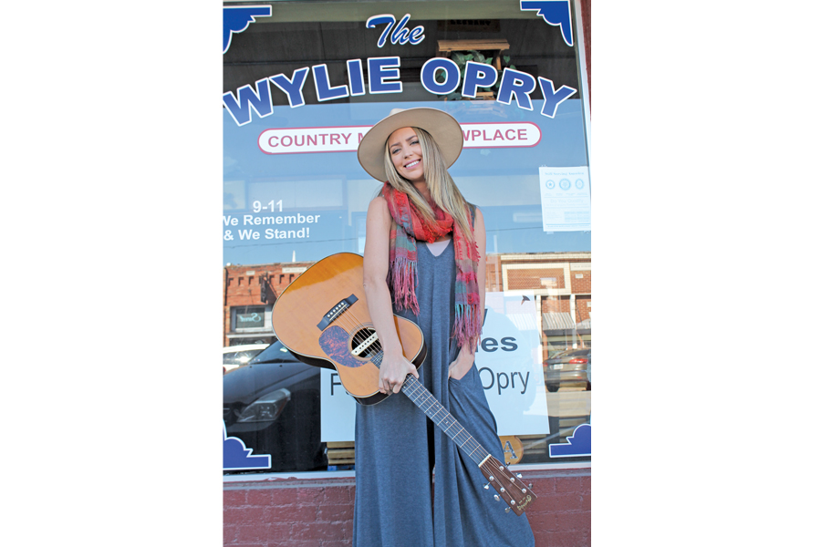 Local singer-songwriter pursues her dream