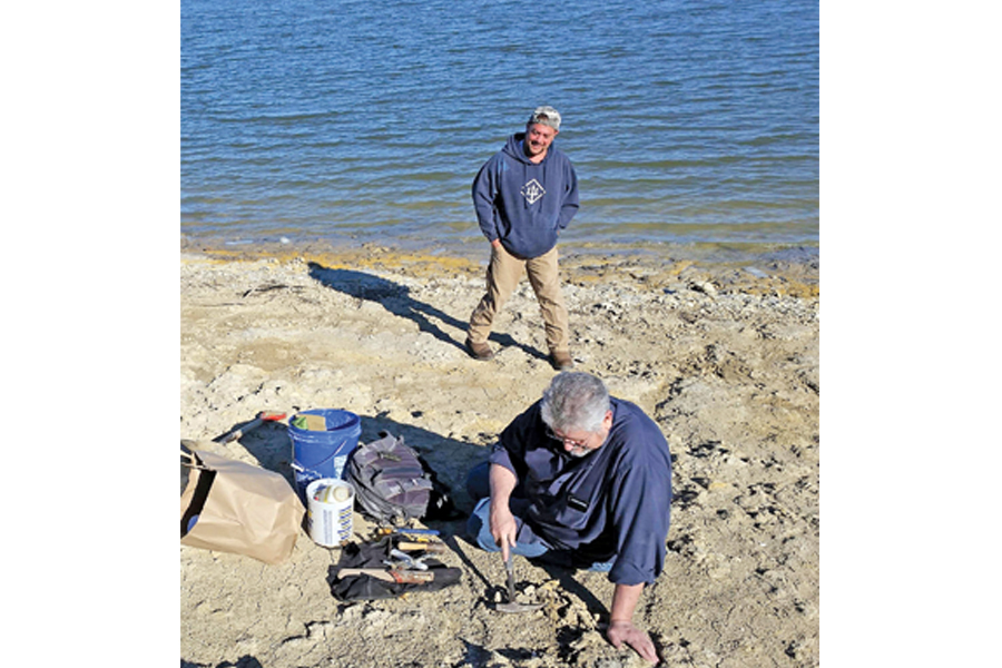 No bones about it: local family makes prehistoric discovery