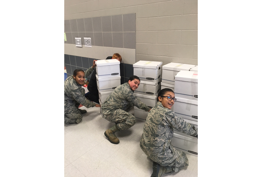 AFJROTC earns Silver Star Community Service Award
