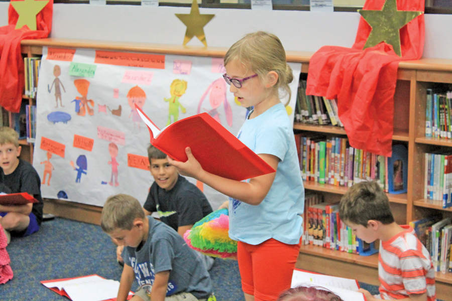 Reader's theatre camp helps prevent summer slide