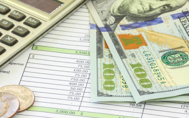 Preliminary budget figures presented