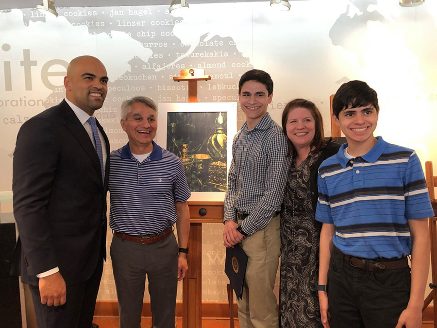 Congressional Art Competition winner