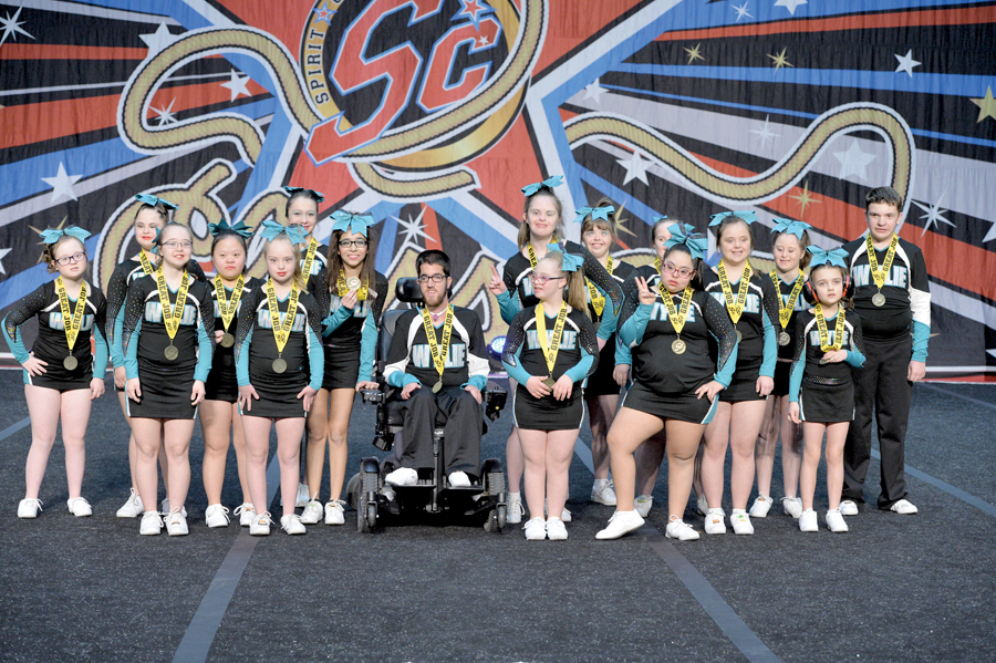 Special needs cheer team spreads joy