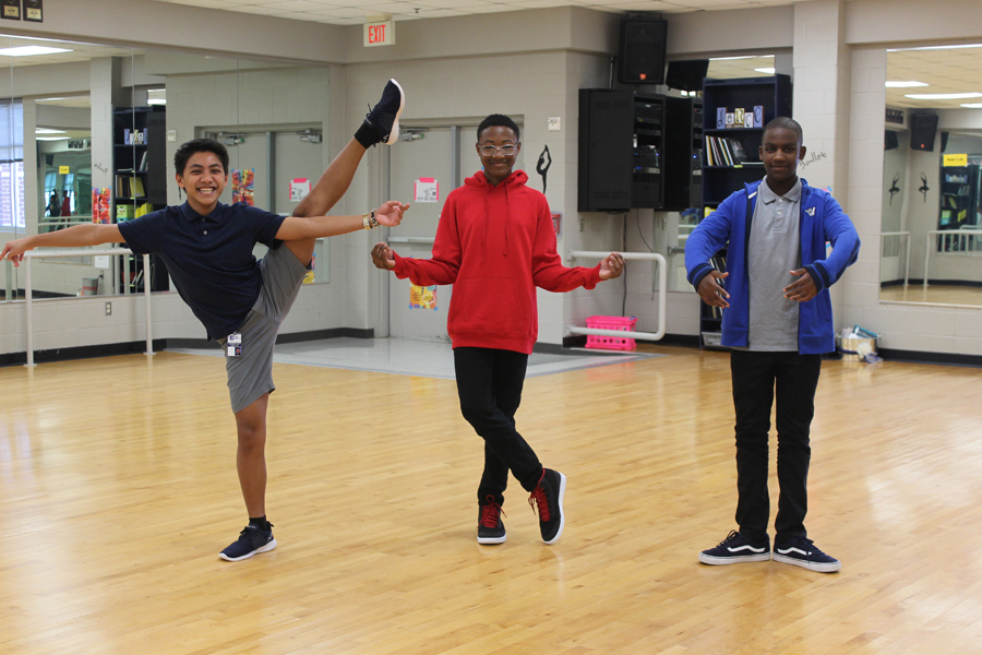 Male dance students defy gender roles