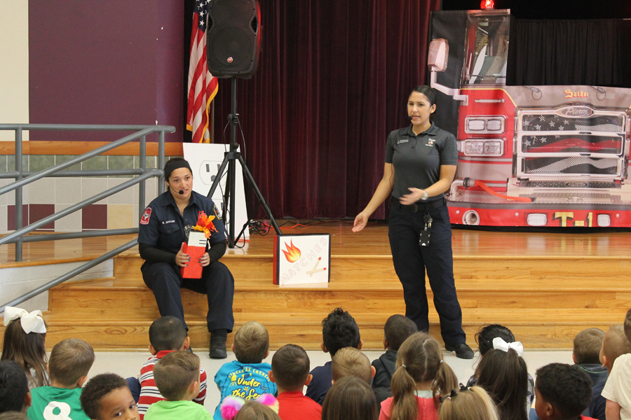 Video: Firefighters perform at Whitt