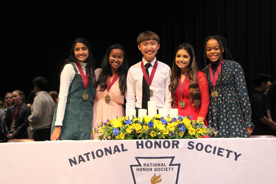 Wylie High NHS inducts new members