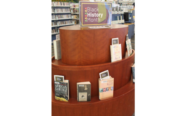 Libraries promote Black History Month