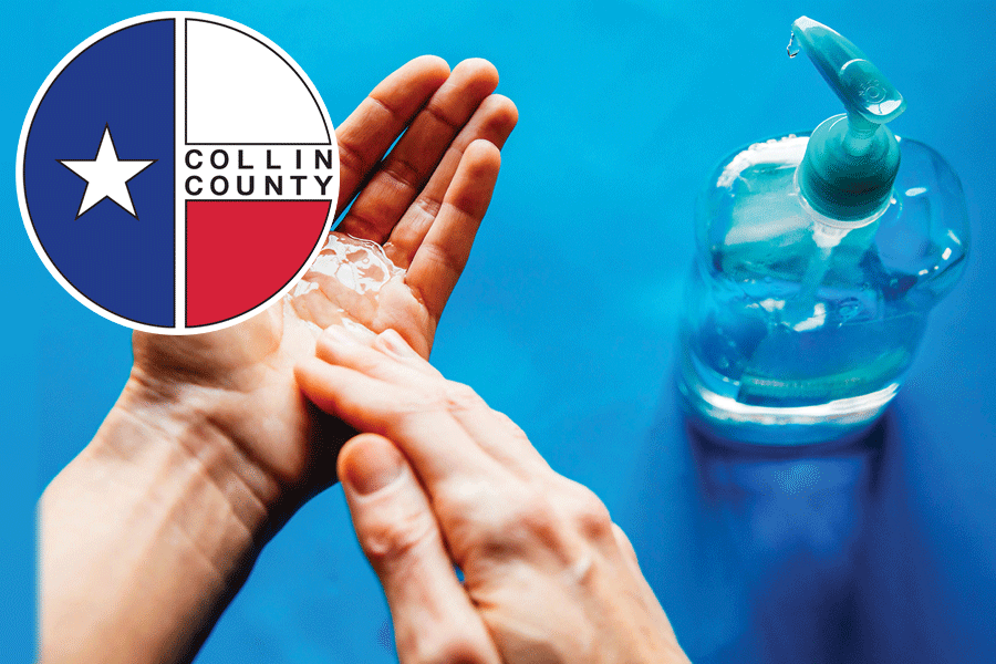 State reports no COVID deaths, 836 new cases in Collin County today, Monday