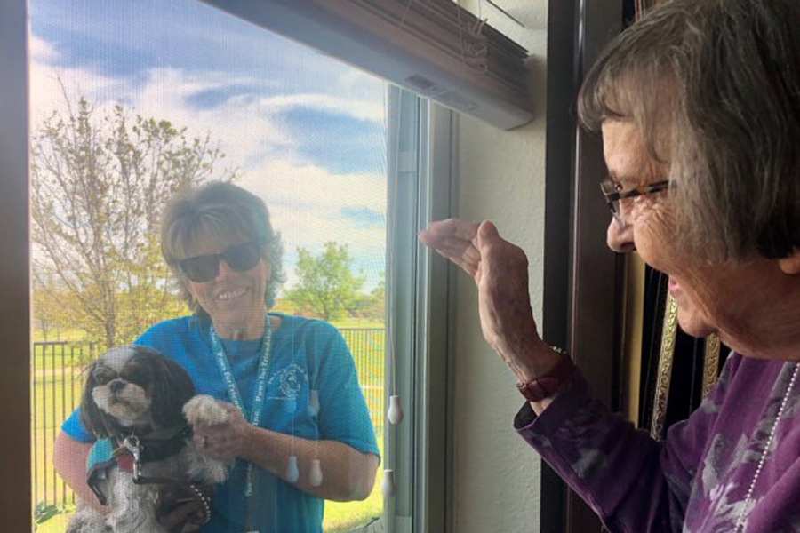 Keeping senior citizens safe, engaged