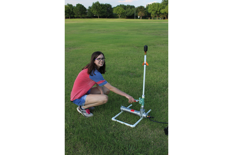 Local Scout builds rocket launchers, earns Gold Award