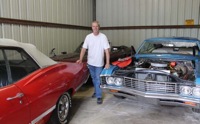 Old cars remind owner of his youth