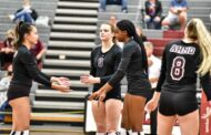 Volleyball teams battle in district play