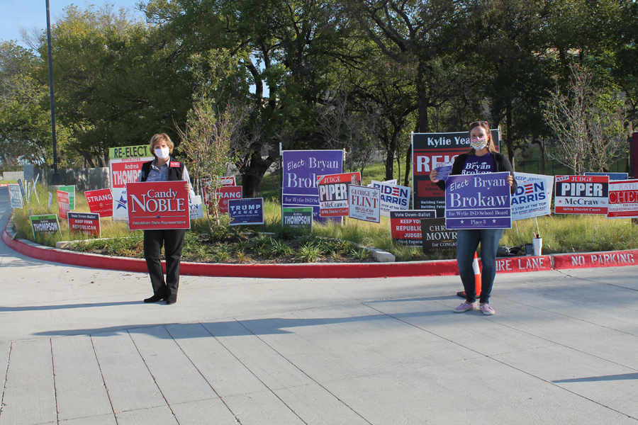Early voting starts strong