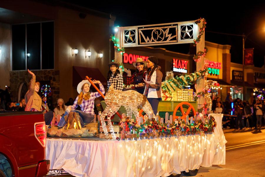 Light display, parade, festival ring in the season