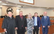 New trustees take oath, new contract discussed