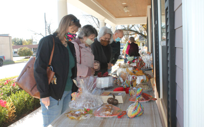 Bake sale still delivers tasty treats