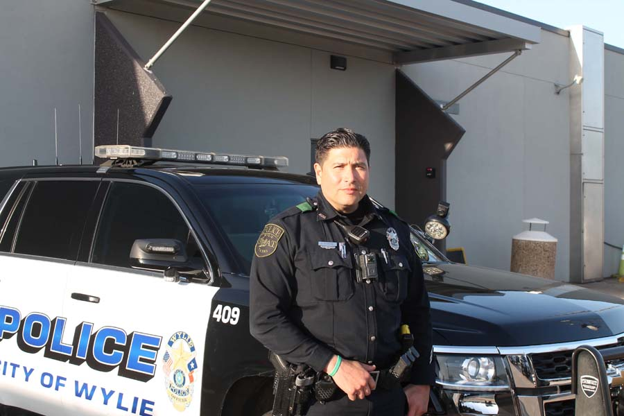 From Wyoming to Wylie: Pandemic forced changes in officer's job
