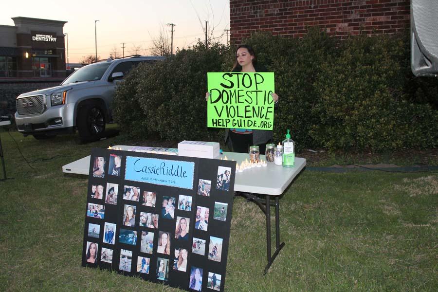 Vigil held for woman killed last week