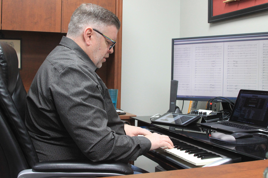 Wylie composer releases album