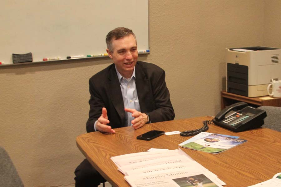 Congressman discusses infrastructure, other key topics
