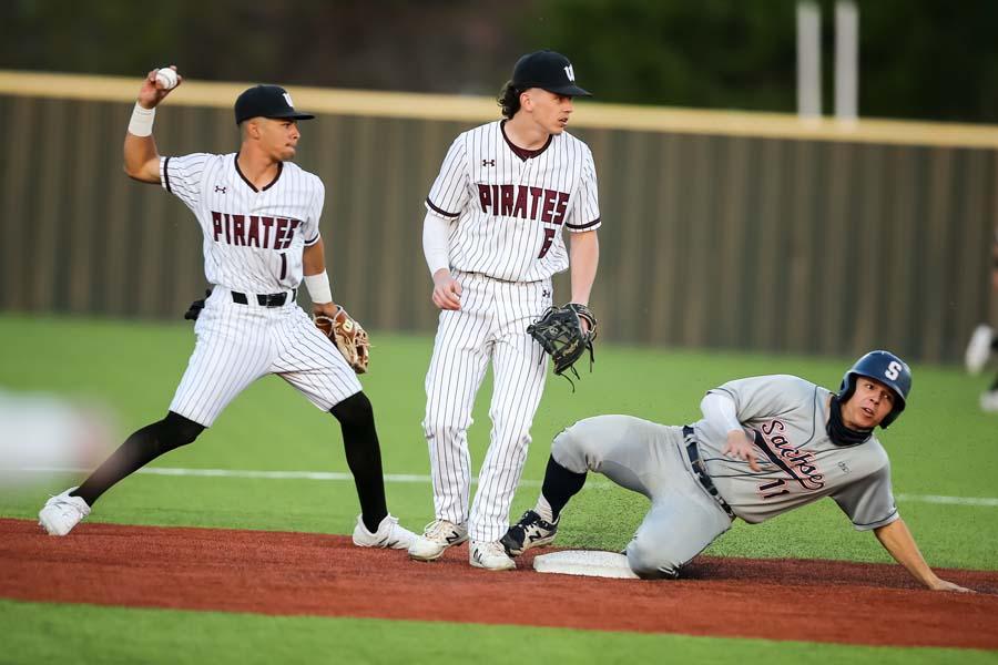 Pirates' pitching maintains winning streak in district