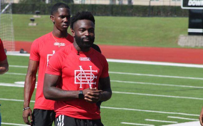 NFL player, former Raider returns to host camp