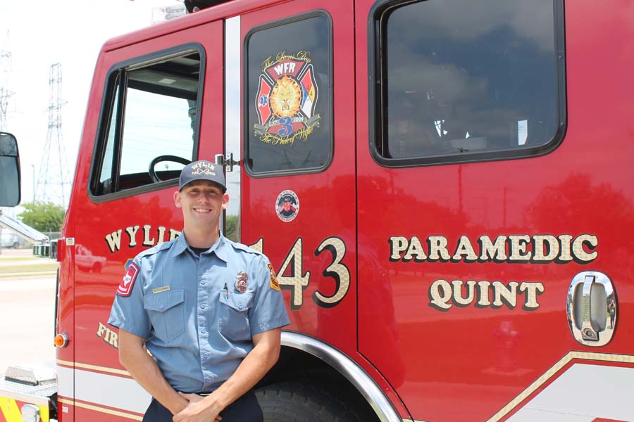 WF-R honors paramedic, firefighter of year
