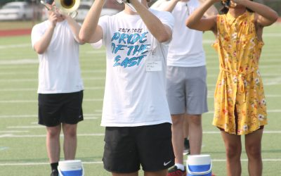 Wylie East marching band readies for 2021-22 season