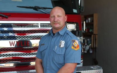 Wylie firefighter ready to jump in ring