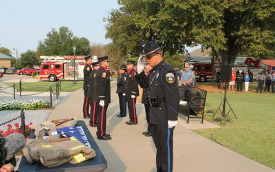 Police, fire hold 9/11 tribute