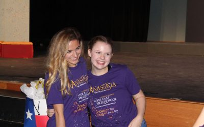 Broadway star lends expertise to Wylie East theater students
