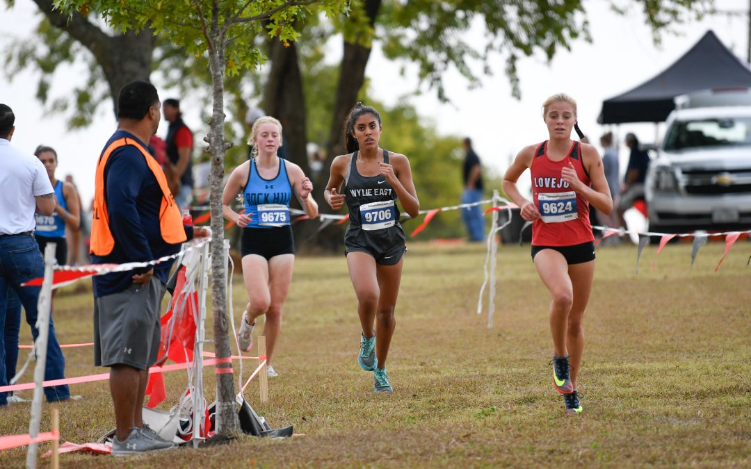 Abraham qualifies to regional cross country meet