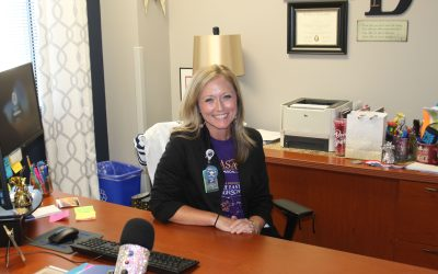 Principal embraces role of leader of students, teachers